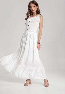 Sukienka Renee bez rękawów maxi rozkloszowana