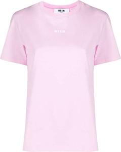 T-shirt MSGM z okrągłym dekoltem