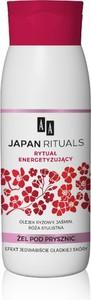 AA, Japan Rituals, energetyzujący żel pod prysznic, 400 ml