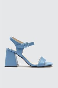 Niebieskie sandały Trendyol z klamrami