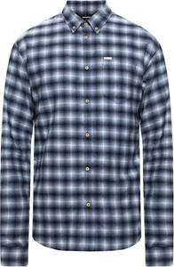 Niebieska koszula Dsquared2 z długim rękawem w stylu casual