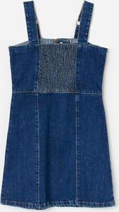 Sukienka dziewczęca Reserved z jeansu