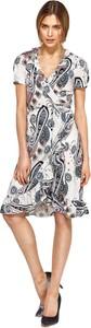 Sukienka Nife z krótkim rękawem asymetryczna