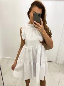 Sukienka Biancaloren.pl z bawełny mini