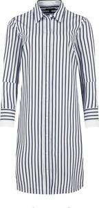 Sukienka Marc O'Polo w stylu casual koszulowa z kołnierzykiem
