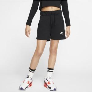 Czarne spodenki dziecięce Nike