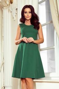 Sukienka NUMOCO z bawełny z okrągłym dekoltem bez rękawów