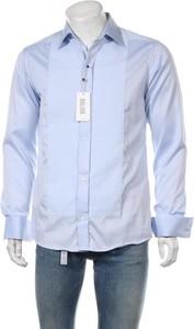 Niebieska koszula Eton z klasycznym kołnierzykiem