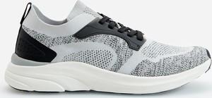 Reserved - Sneakersy w sportowym stylu - Szary