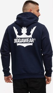 Granatowa bluza Jigga Wear z bawełny