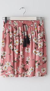 Różowa spódnica Sinsay mini w stylu casual