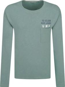 Koszulka z długim rękawem Pepe Jeans w młodzieżowym stylu z długim rękawem