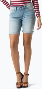 Pepe jeans - damskie krótkie spodenki jeansowe – poppy, niebieski
