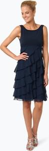 Sukienka Swing bez rękawów z dżerseju z okrągłym dekoltem