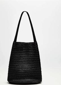 Czarna torebka Moodo.pl w wakacyjnym stylu