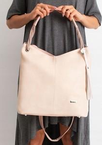 Różowa torebka * producent niezdefiniowany na ramię