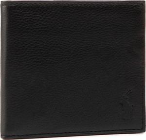 Czarny portfel męski POLO RALPH LAUREN