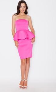 9fe9d1565f elegancka sukienka z baskinką - stylowo i modnie z Allani