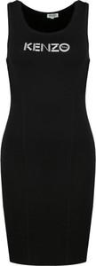 Czarna sukienka Kenzo