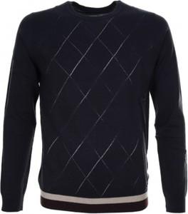 Niebieski sweter Gaudi z wełny