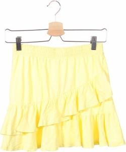Żółta spódniczka dziewczęca ZARA