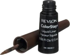 Revlon, Colorstay, liquid liner, eyeliner w płynie, Brown 2,5 ml