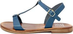 Sandały Bluetag z klamrami