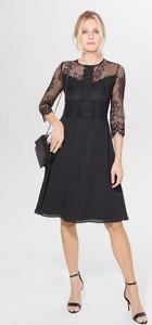 Czarna sukienka Mohito midi
