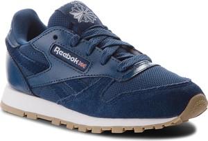 Buty reebok - cl leather estl cn1136 washed blue/white