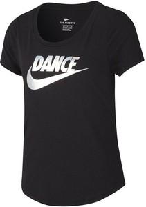 Czarna koszulka dziecięca Nike
