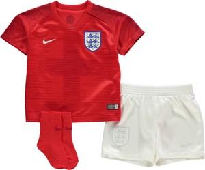 Czerwone body niemowlęce Nike