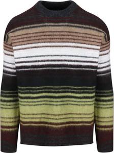 Brązowy sweter Roberto Collina w młodzieżowym stylu