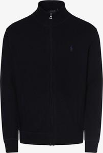 Niebieski sweter POLO RALPH LAUREN w stylu casual z bawełny