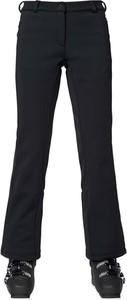 Czarne spodnie sportowe ROSSIGNOL z polaru