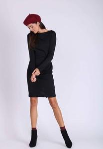 Sukienka Nommo z długim rękawem z okrągłym dekoltem w stylu casual