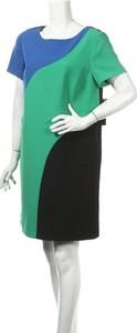 Sukienka Tahari mini z krótkim rękawem