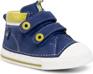 Niebieskie buciki niemowlęce Lasocki Kids