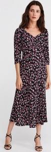 Sukienka Reserved w stylu casual z długim rękawem maxi