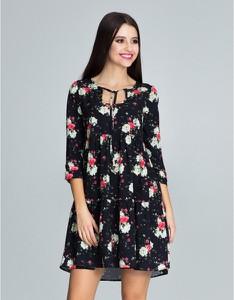 Sukienka Figl mini z długim rękawem