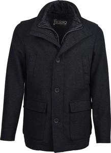 Płaszcz męski Herno z wełny w stylu casual