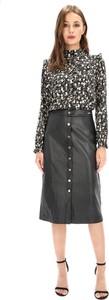 Czarna spódnica Rino & Pelle midi w stylu casual