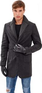 Płaszcz męski Gate w stylu casual z wełny
