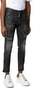 Czarne jeansy Dsquared2