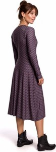 Fioletowa sukienka Be
