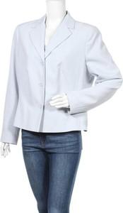 Niebieska marynarka Woman`s Fashion na guziki