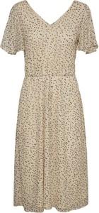 Sukienka WARESHOP z krótkim rękawem