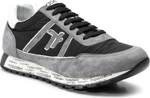 Buty sportowe Togoshi ze skóry z płaską podeszwą w sportowym stylu