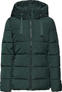 Zielona kurtka Esprit krótka w stylu casual