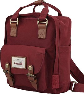Czerwony plecak męski Himawari