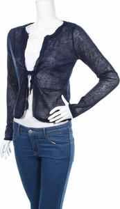 Granatowy sweter Brandtex w stylu casual